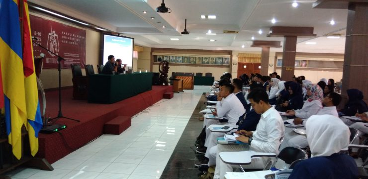 PENYAMBUTAN MAHASIWA BARU MAGISTER KENOTARIATAN SEMESTER GANJIL 2017