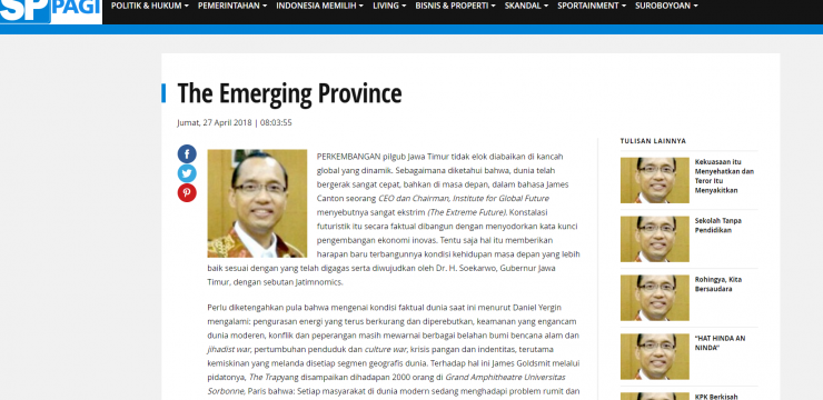 The Emerging Province
