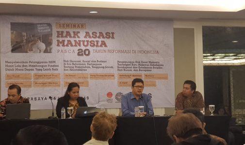 REFLEKSI HAK ASASI MANUSIA PASCA 20 TAHUN REFORMASI INDONESIA