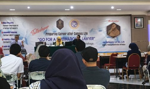 Young Lawyer Academy Goes to UNAIR!